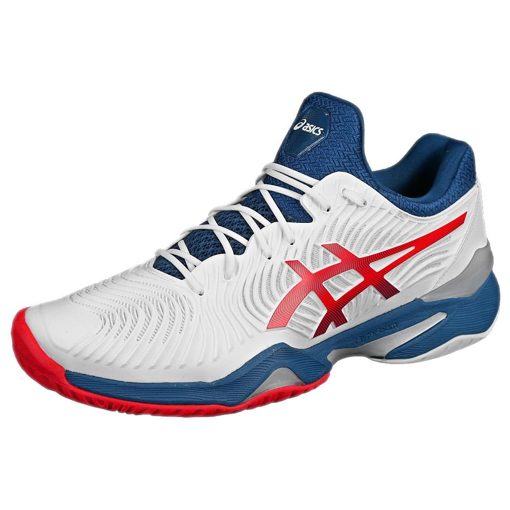 Asics Men's Court FF 2 - White/Mako Blue