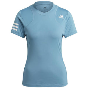 adidas Women's Club Tee - Hazy Blue