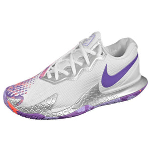 Nike Women's Air Zoom Vapor Cage 4 - White/Purple