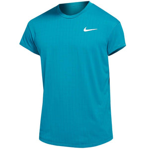 Nike Men's Breathe Slam Melbourne Shirt - Green Abyss