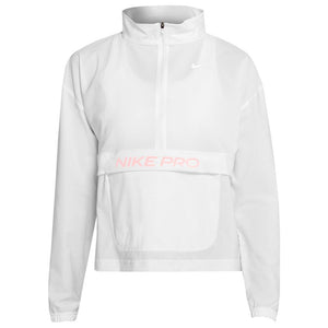 Nike Women's NikePro Packable Jacket - White