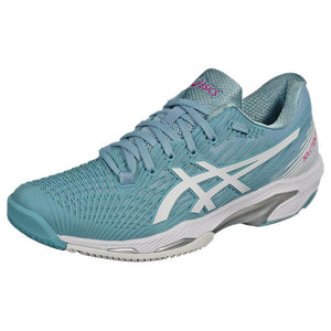 Asics Women's Solution Speed FF 2 - Smoke Blue/White