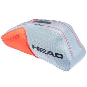 Head Radical 6 Pack Combi - Grey/Orange