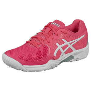 Asics Junior Gel-Resolution 8 GS - Pink Cameo/White