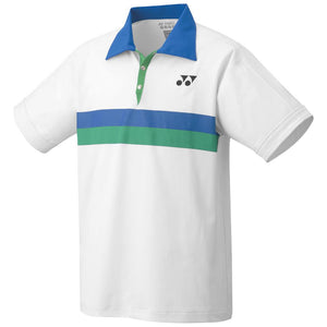 Yonex Men's 75th Anniversary Game Polo - White