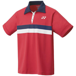 Yonex Men's 75th Anniversary Game Polo - Ruby Red