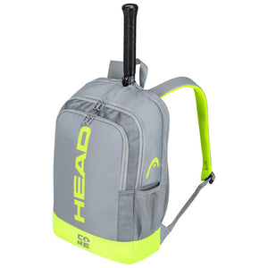 Head Core Backpack - Grey/Neon Yellow