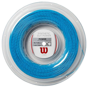 Wilson Synthetic Gut Power - 130 Blue String Reel