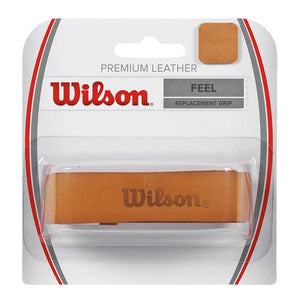 Wilson Premium Leather Replacement Grip - Brown