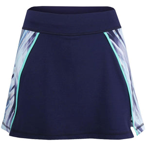 "Sofibella Women's Speed Lines 14"" Skort - Navy"