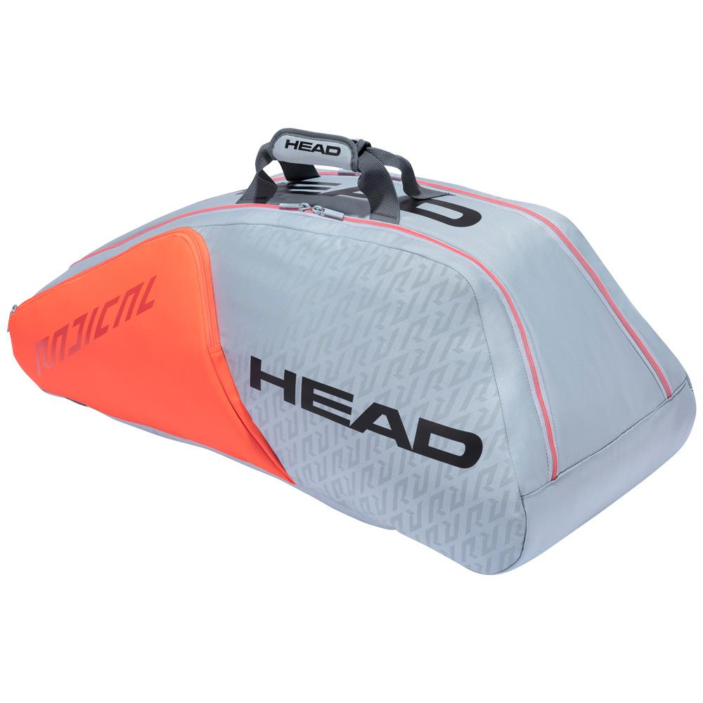 Head Radical Supercombi 9 Pack - Grey/Orange