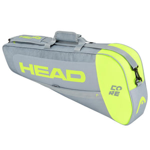 Head Core 3 Pack - Grey/Neon Yellow