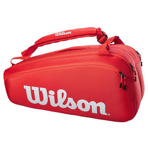 Wilson Super Tour 9 Pack - Red