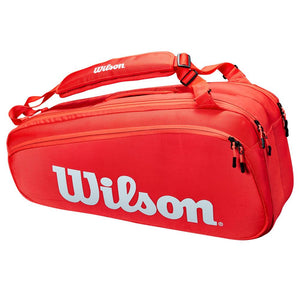WIlson Super Tour 6 Pack - Red