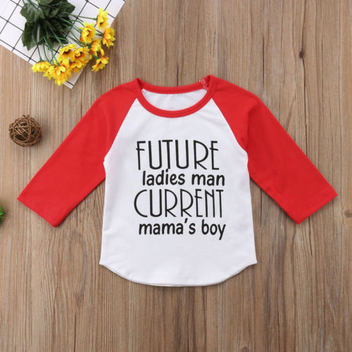 Future Ladies Man Baseball Tee
