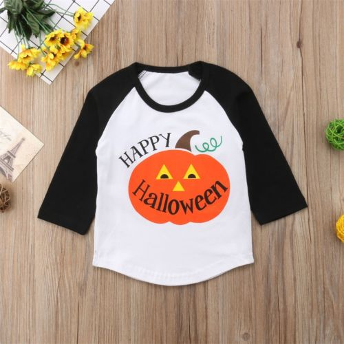 Happy Halloween Baseball Tee