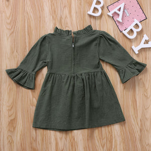Ashlyn 3/4 Sleeve Dress