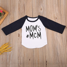 Load image into Gallery viewer, Mom's #MCM Raglan Tee