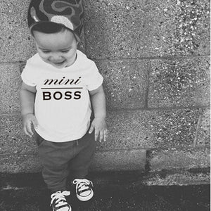 Mini Boss Short Sleeve Tee