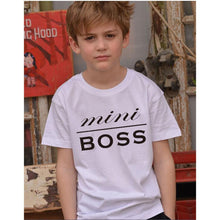 Load image into Gallery viewer, Mini Boss Short Sleeve Tee