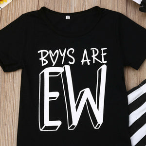 Boys are Ew 3 Piece Set