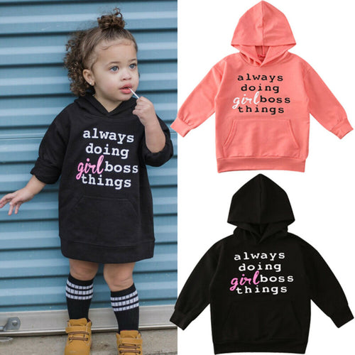 Girl Boss Things Hoodie