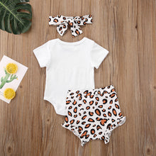 Load image into Gallery viewer, Leopard 3 Piece Mama's Bestie Outfit
