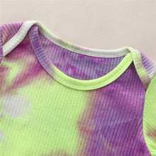 Load image into Gallery viewer, Tie-Dye Ribbed One Piece