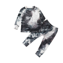 Load image into Gallery viewer, Tie-Dye 2 Piece Pant Set