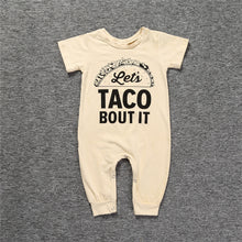 Load image into Gallery viewer, Let's Taco Bout It Romper