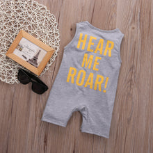 Load image into Gallery viewer, Hear Me Roar Romper