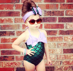 Mermaid 1 Piece Bathing Suit