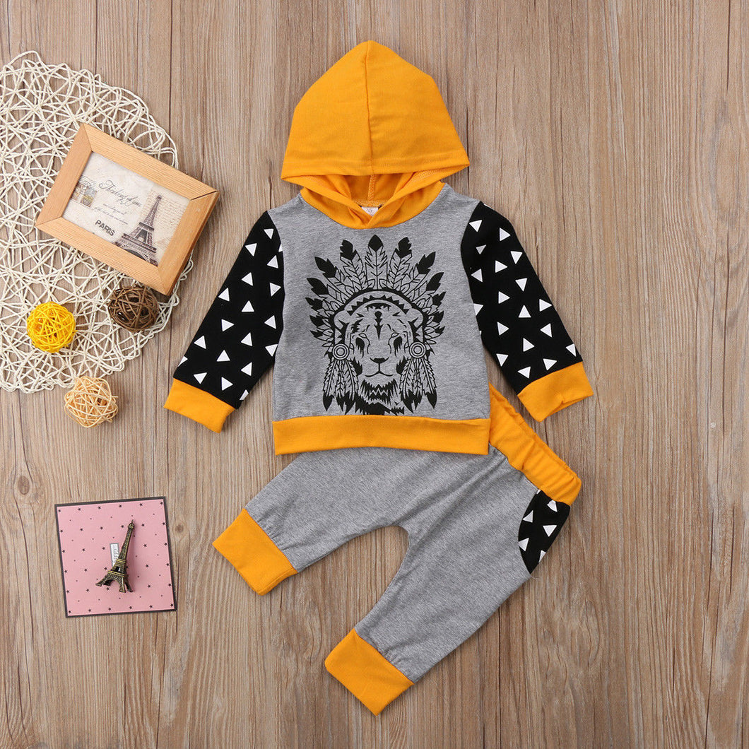 Marly 2 Piece Hooded Set