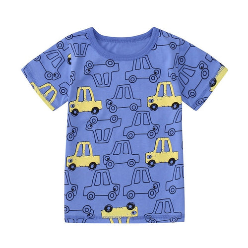 Cars Cars Cars Short Sleeve Tee