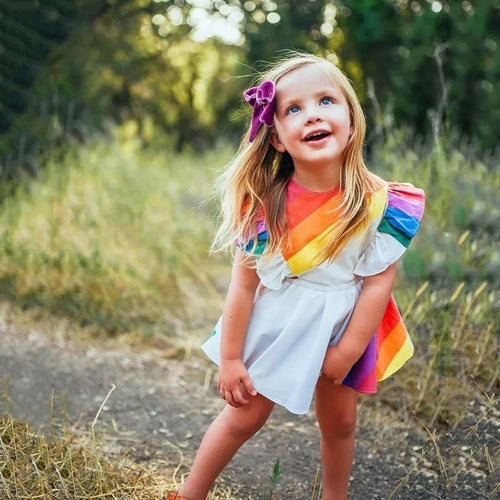 Brianna Rainbow Dress