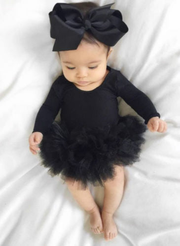 Madeline Tutu Bodysuit with Matching Bow