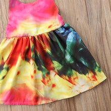 Load image into Gallery viewer, Harley Tie Dye Halter Dress