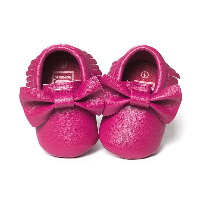Butterfly Bow Moccasins