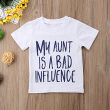 Load image into Gallery viewer, My Aunt Is A Bad Influence Tee