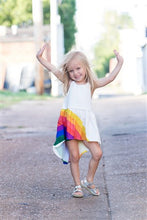 Load image into Gallery viewer, Rainbow Sun Dress