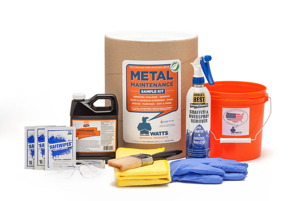 Metal Maintenance Sample Kit