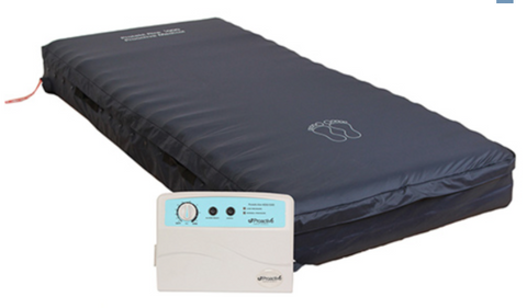 "Protekt Aire 5000DX Alternating Pressure Low Air Loss Mattress System - 36"" x 80"" x 8"""