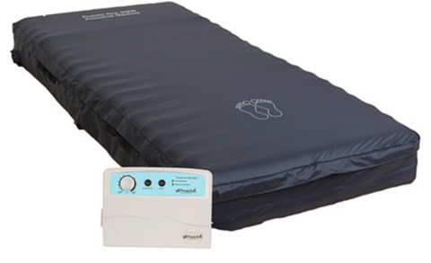 "Protekt Aire 4000DX Alternating Pressure Low Air Loss Mattress System - 36"" x 80"" x 8"""