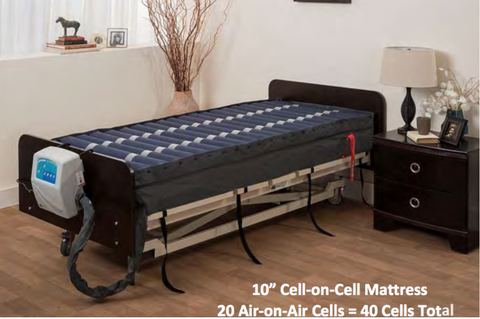 TRUE LOW AIR LOSS THERAPEUTIC MATTRESS 4 ZONE