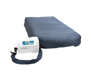 "Protekt Aire 9900 True Low Air Loss Mattress System w/ Alternating Pressure & Pulsation, 36"" x 80"" x 10"""