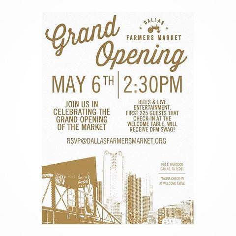 Dallas Farmer's Market Grand Opening | Bullzerk