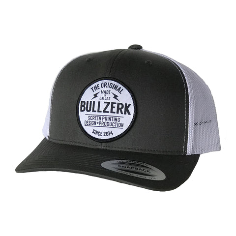 Bullzerk Patched Curved Bill Hat