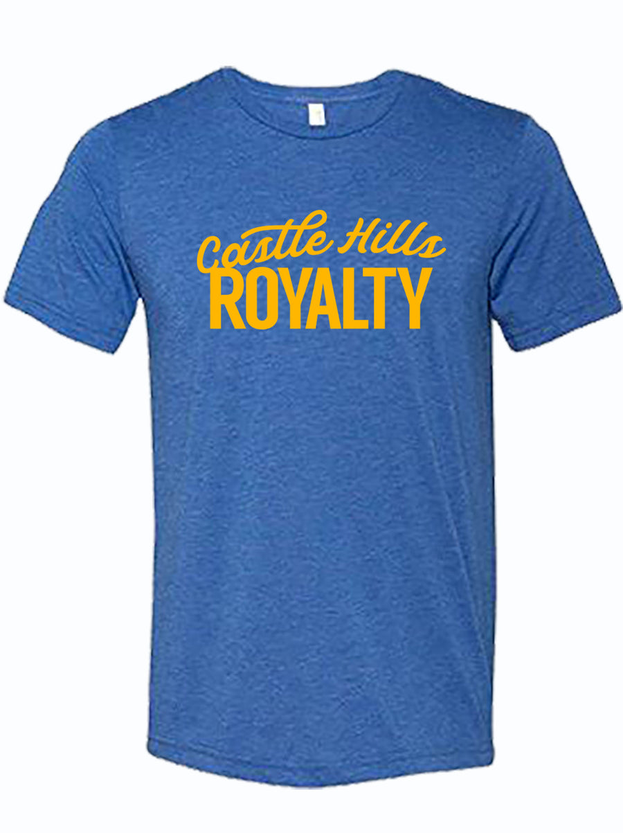 "royal tshirt with text ""Castle Hills Royalty"""