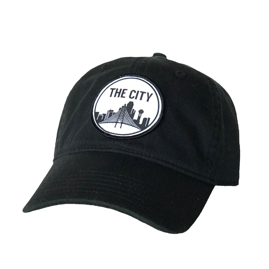 The City Patched Cotton Hat