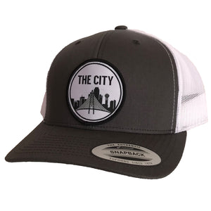 The City Patched Curved Bill Hat